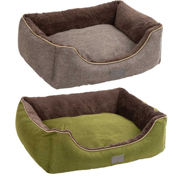 Snugly bed Samuel grey/green