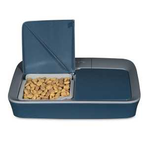 Cat Mate dry food cat or dog feeder 2 meals