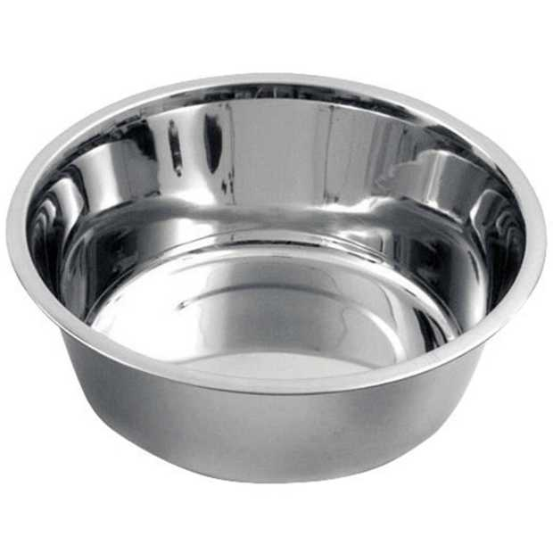 stainless steel dogs' bowl 4000 ml 2800 ml