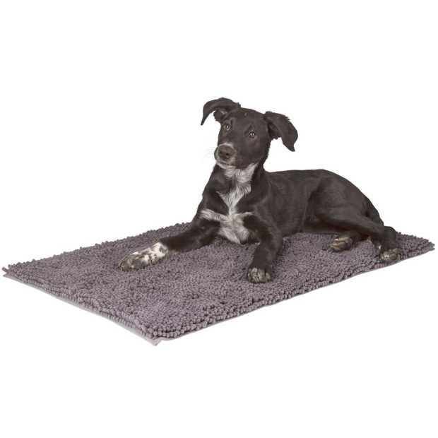 Dirt catcher mat SuperBed grey,80x50cm