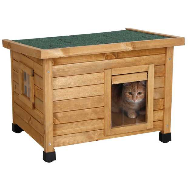 Cat House Rustica 57x45x43cm