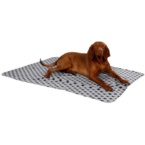dog blanket Stella 14x100cm grey