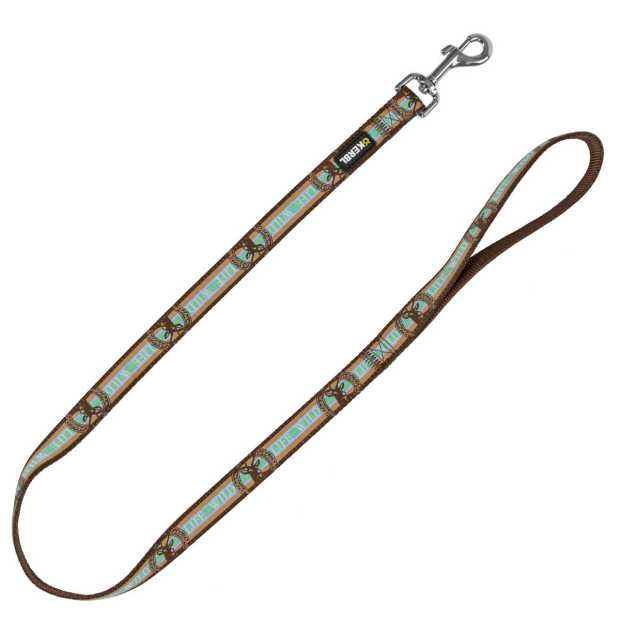 Leash Wild Life brown, 100cm/20mm