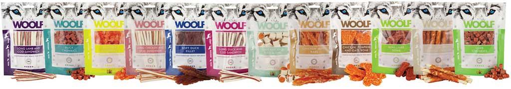 Woolf natürliche Hundesnacks